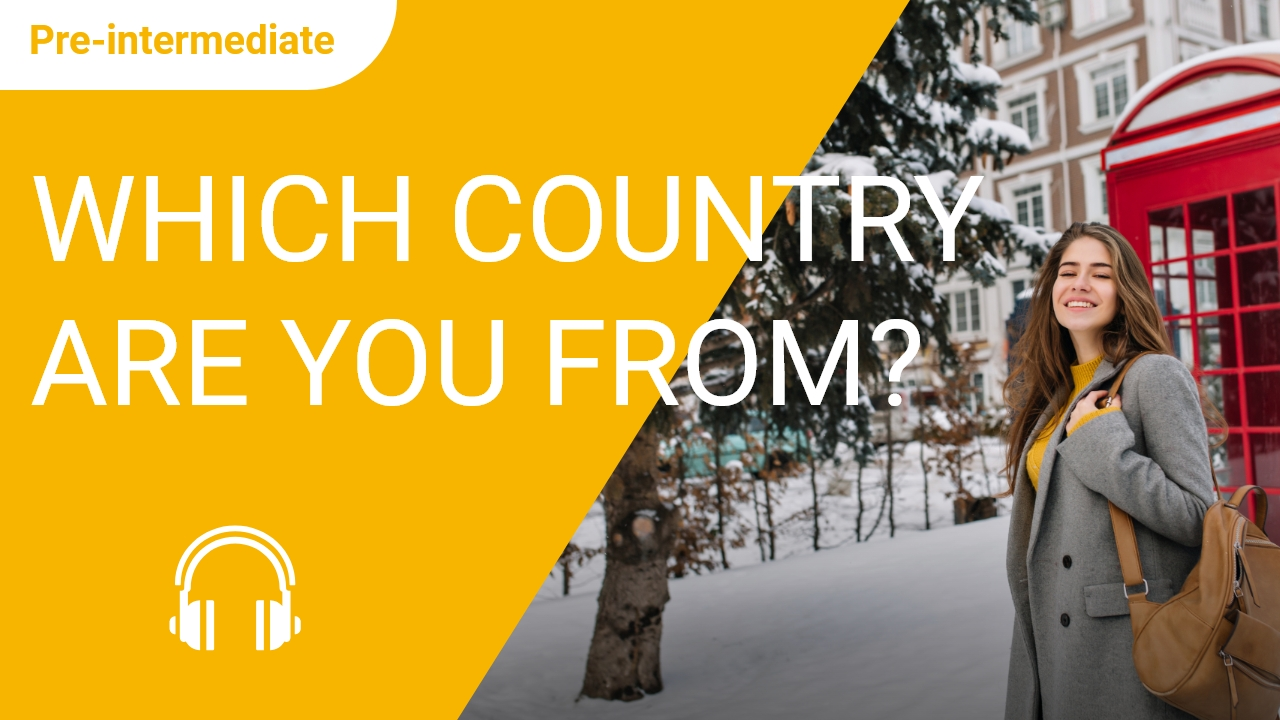 Which country are you from?