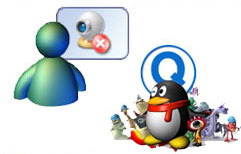 MSN and QQ