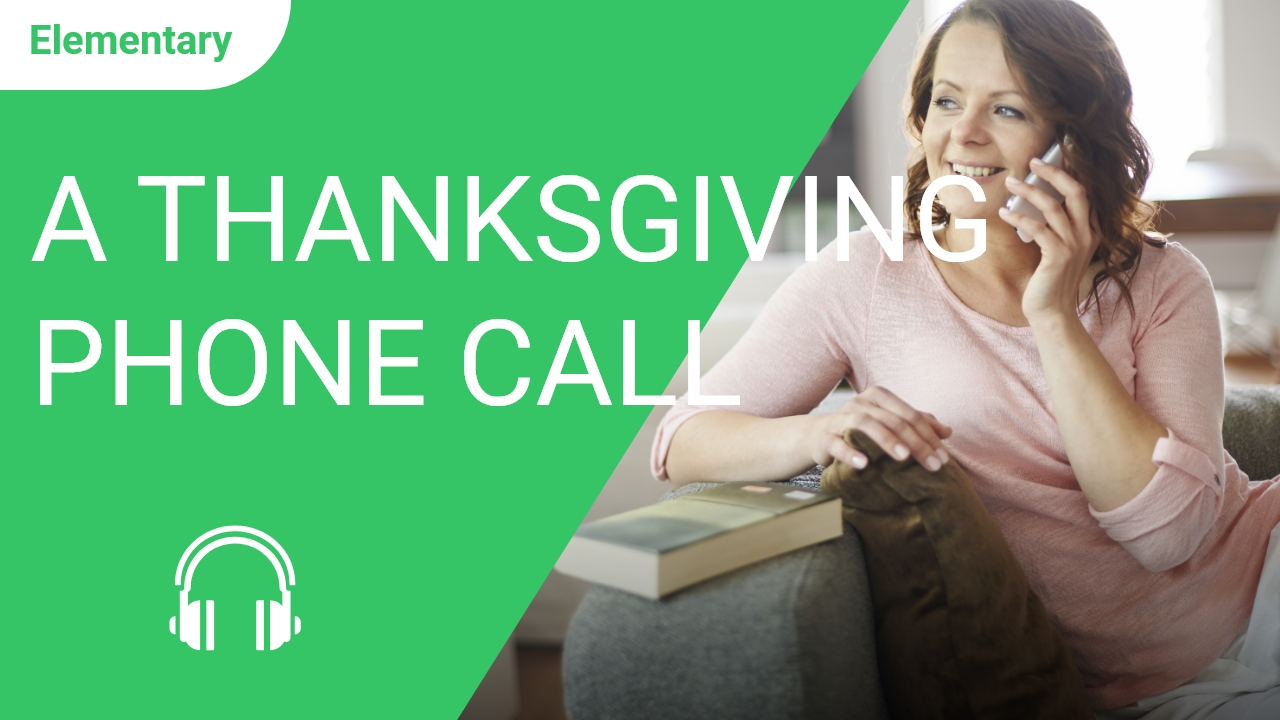 A Thanksgiving Phone Call