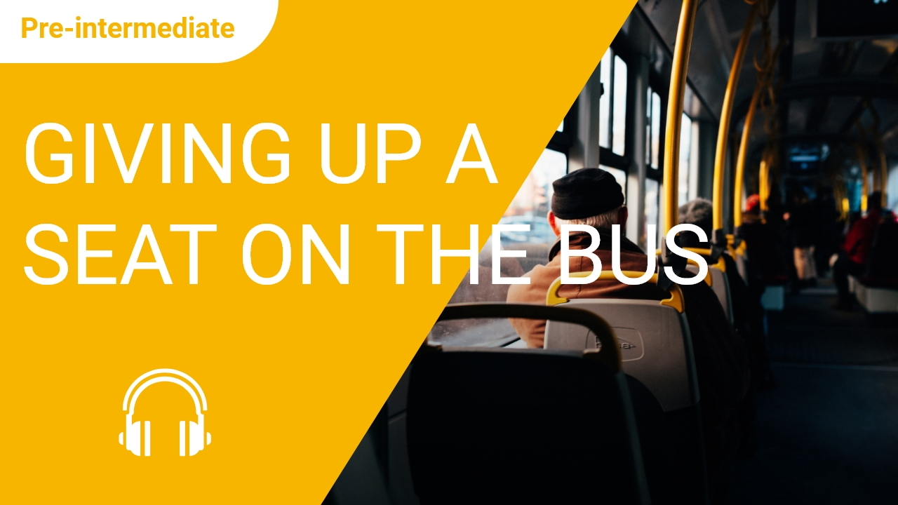 Giving up a Seat on the Bus