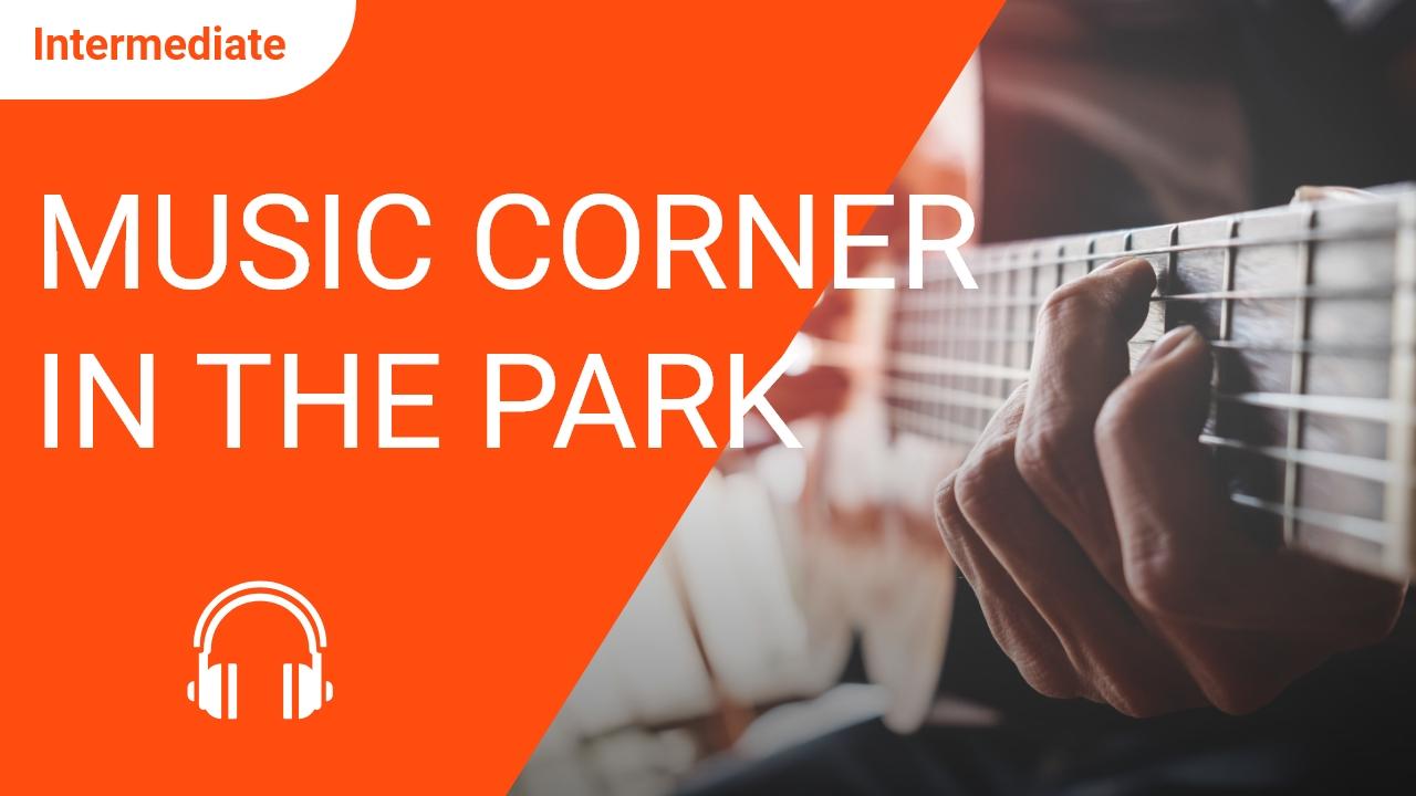 Music Corner in the Park