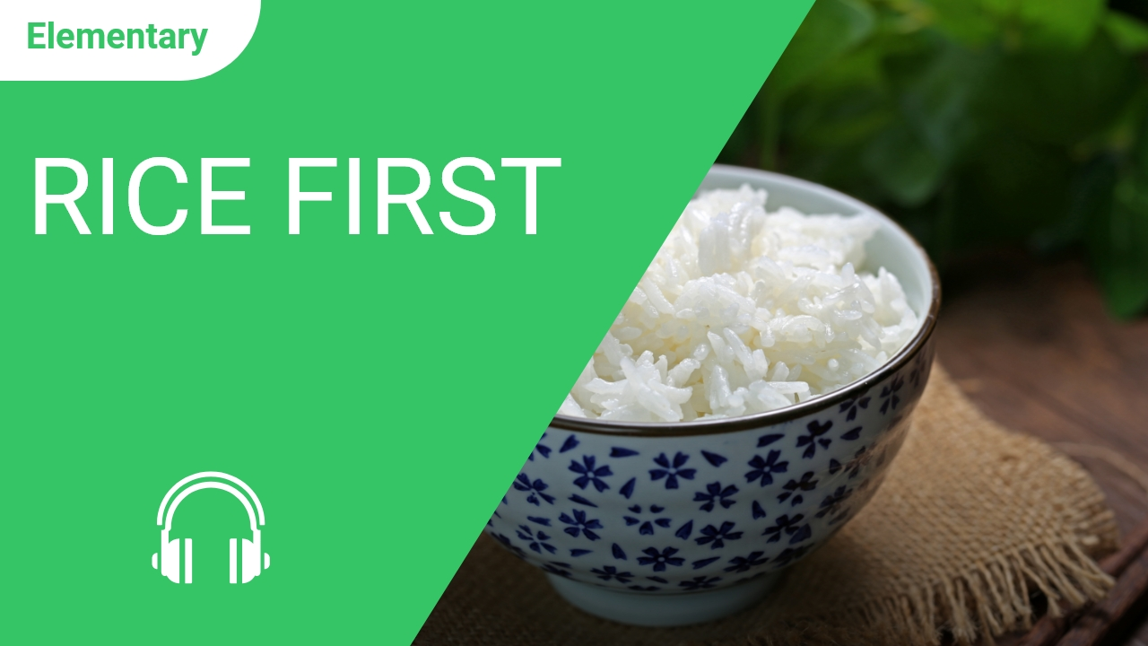 Rice First