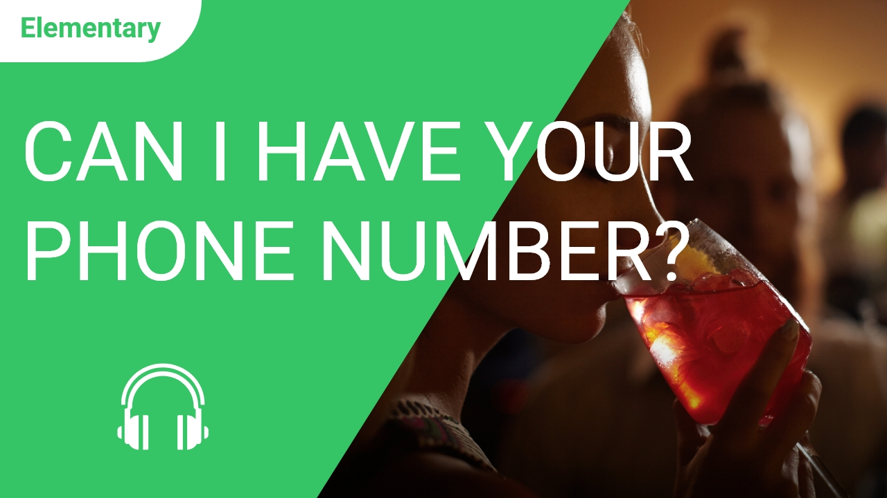 Can I Have your Phone Number? Please?