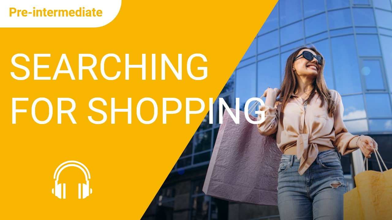 Hospitality Series 5: Searching for Shopping