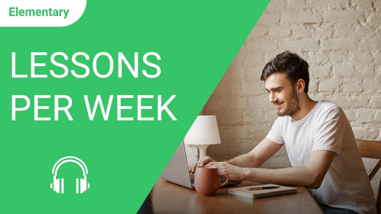 Lessons Per Week