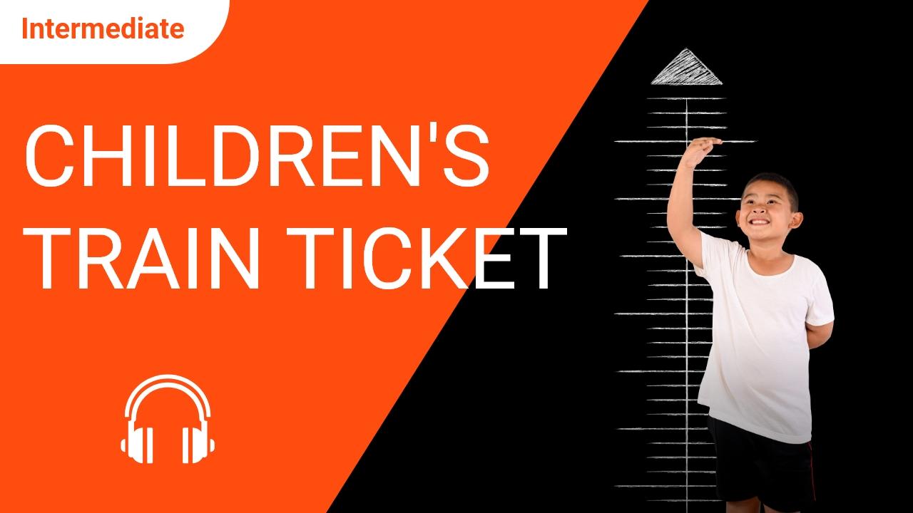 Children's Train Ticket