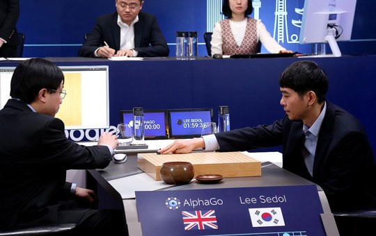 AlphaGo versus Lee Sedol
