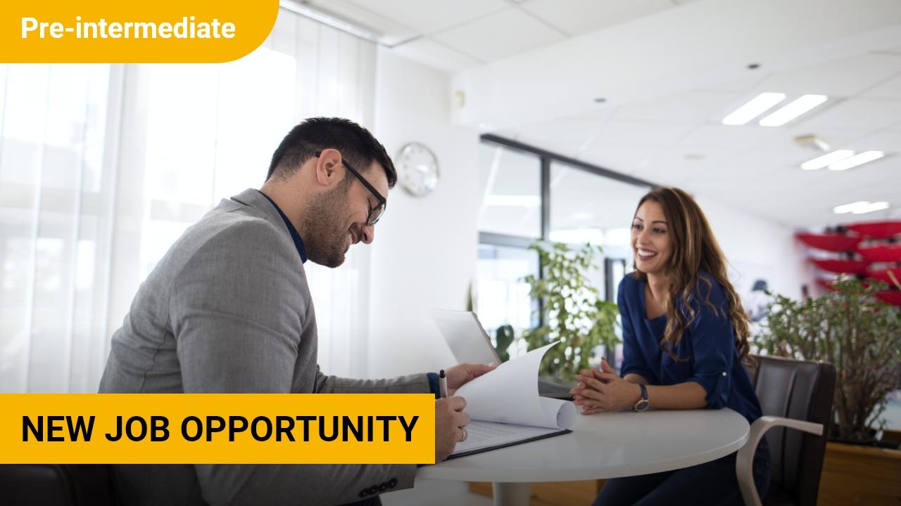New Job Opportunity