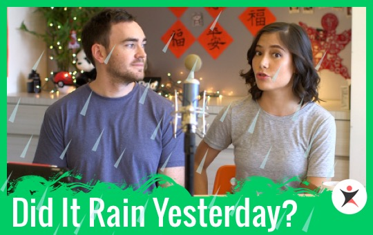 Did It Rain Yesterday?