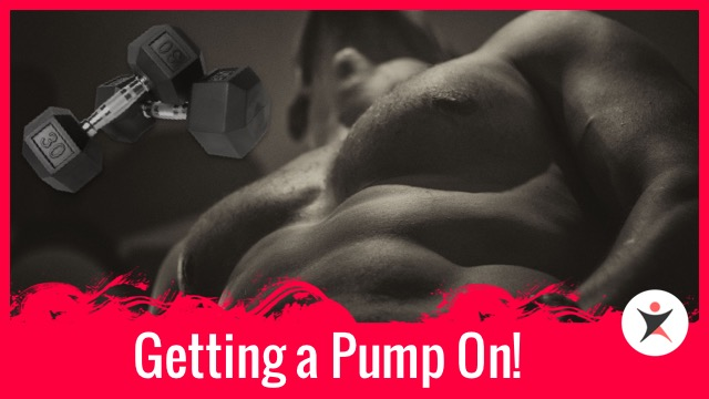 Getting a Pump On! Back and Bicep Workout in the Gym