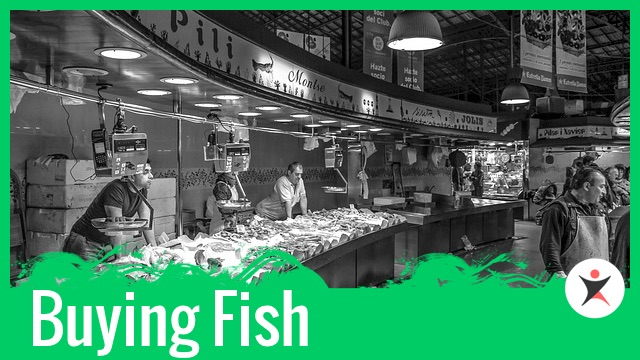 Buying Fresh Fish in the Market