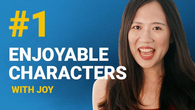66 Enjoyable Characters with Joy #1