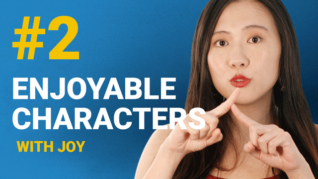 66 Enjoyable Characters with Joy #2