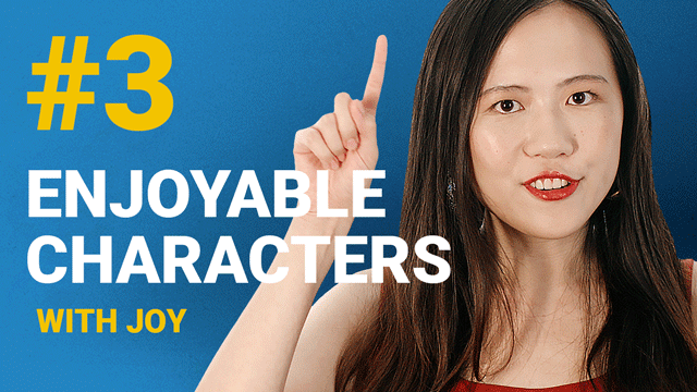 66 Enjoyable Characters with Joy #3