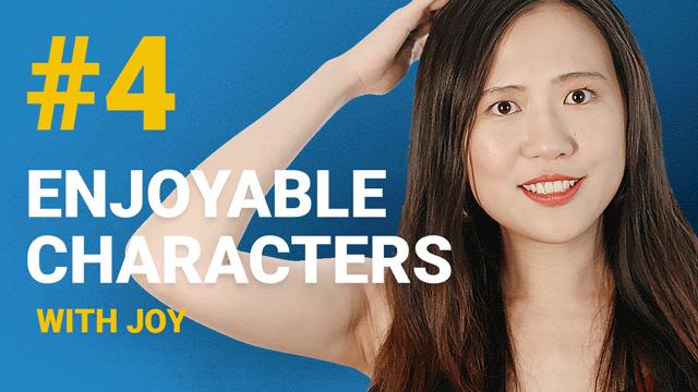 66 Enjoyable Characters with Joy #4