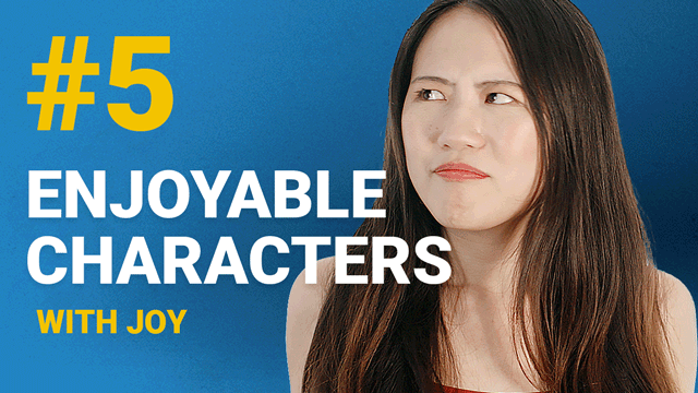 66 Enjoyable Characters with Joy #5