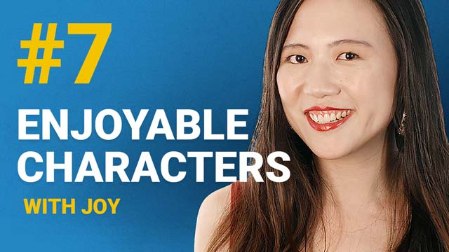 66 Enjoyable Characters with Joy #7