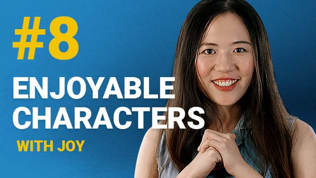 66 Enjoyable Characters with Joy #8
