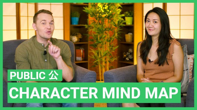 Character mind map - 公