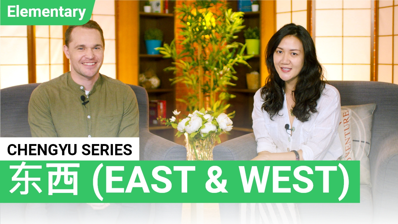 Chengyu Series: East and West 东西