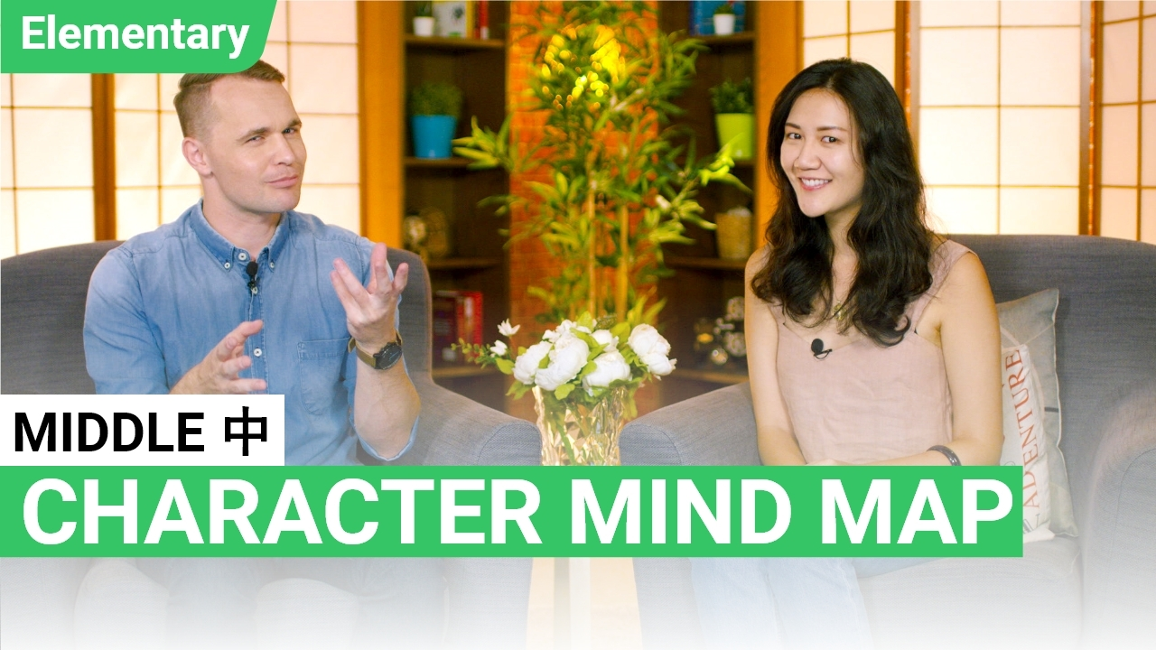 Character Mind Map: 中 Middle