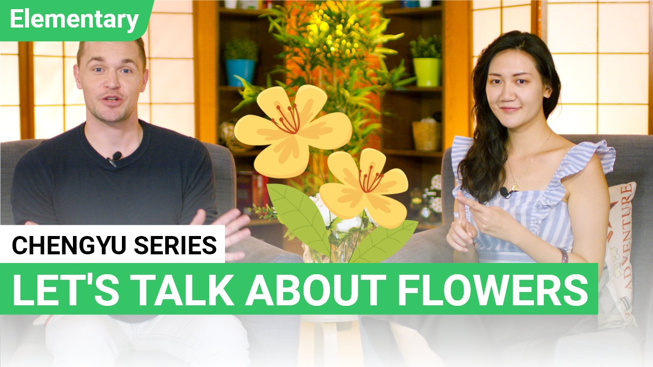 Chengyu Series: Flower 花