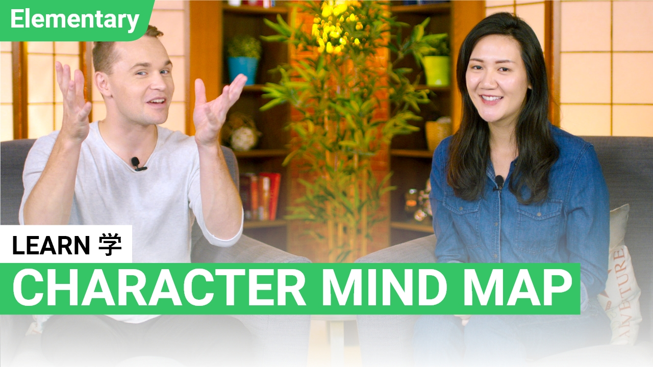 Character Mind Map: 学 Learn
