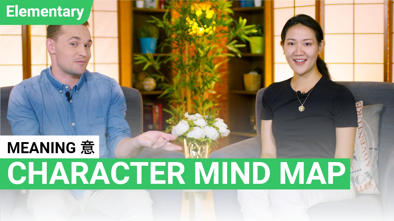 Character Mind Map: 意 Meaning