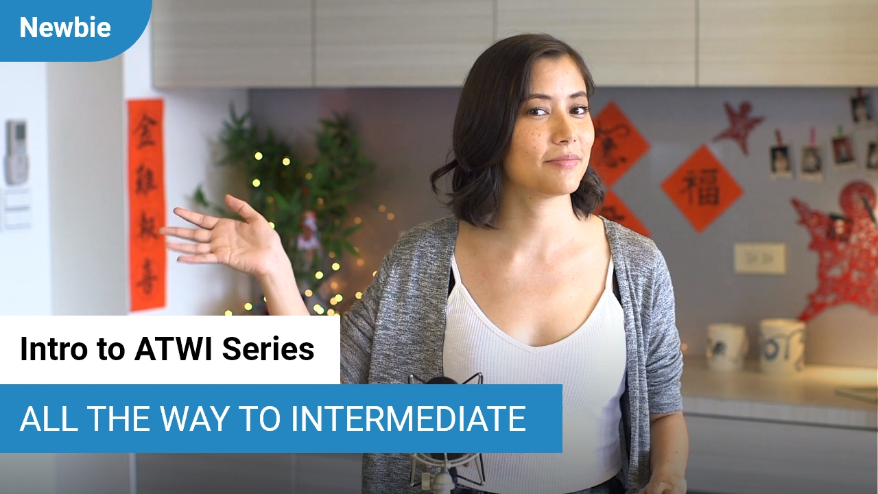 Intro to All the Way to Intermediate series