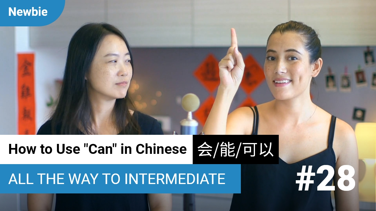 "Using ""Can"" 会、能、可以"