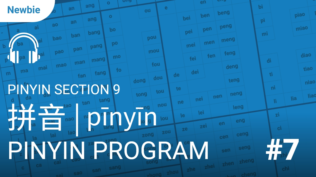 Pinyin Section 9
